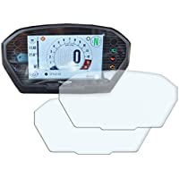 Speedo-Angels 2 x Triumph Street Triple R / RS (2017>) Velocímetro / Speedo / Tacho Protector de pantalla - Ultra Transparente