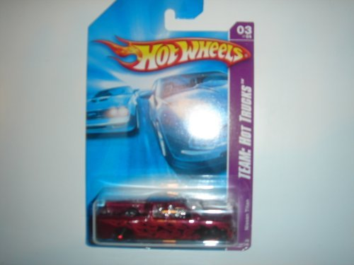 hot-wheels-2008-team-hot-trucks-nissan-titan-dark-red-139-196-by-mattel