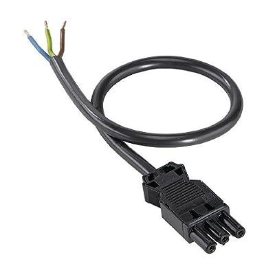 Verbindungssystem Wieland Stecker schwarz von SLV auf Lampenhans.de