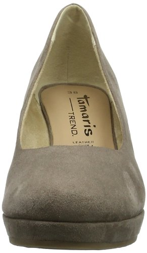 Tamaris TREND 1-1-22449-22 Damen Pumps Braun (PEPPER 324)