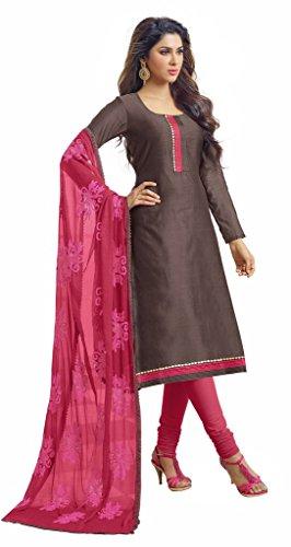 DnVeens Heavy Dupatta Suit Party Wear Salwar Kameez Dupatta Dress Material Sets