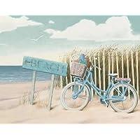 Beach Cruiser II Crop by Wiens, James–stampa fine art disponibile su tela e carta, Tela, SMALL (28 x 22 Inches