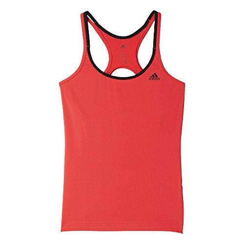 adidas Damen T-Shirt Basic Strappy rot/schwarz