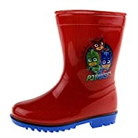 PJ Masks Boys Wellington Boots Red