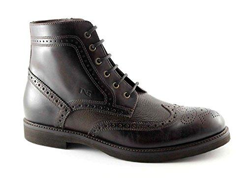 BLACK JARDINS 4423 marron lacets homme zip bottes Anglais Marron