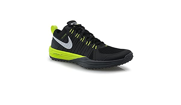 huge selection of 734de 4fed9 Nike Lunar TR1 Fitness Training Shoes Mens Black Volt Grey Gym Trainers  Sneakers (UK7) (EU41) (US8)  Amazon.co.uk  Sports   Outdoors