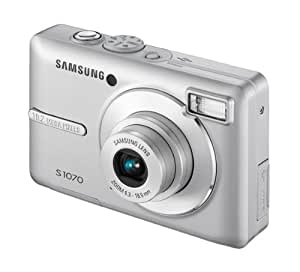 Samsung S1070 Digital Camera - Silver (10MP, 3x Optical Zoom) 2.7 inch LCD