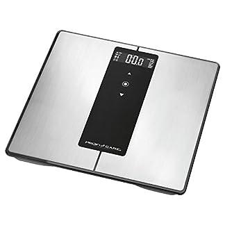 41apdSnzUcL. SS324  - ProfiCare PW 3008 - Báscula baño digital Bluetooth con análisis corporal de 8 funciones diagnóstico, color negro