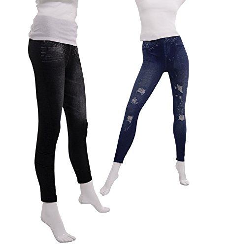 Slim 'n Lift Caresse Jeans 3er Set (L/XL)