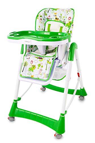 Hochstuhl Farbwahl Kinderhochstuhl Babyhochstuhl Kinder Baby Stuhl Babystuhl NEU (KP0024G Grün)