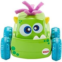 d9c8b7928 Fisher-Price Coche Monstruito verde, juguete gateo, bebé +9 meses (Mattel