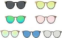 QHGstore Las mujeres UV400 de las gafas de sol al aire libre Deportes de PC Gafas de conducci?®n gafas de sol del metal