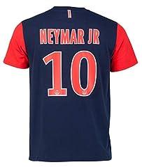 Idea Regalo - Paris Saint Germain - Maglietta del Paris Saint Germain di Neymar Jr., collezione ufficiale, per bambino, Ragazzo, blu, 8 anni