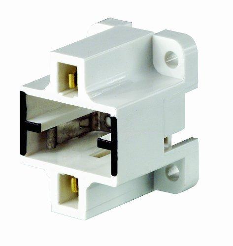 Leviton 26720-400 Gx23, Gx23-2 Base, 2-Pin, Compact Fluorescent Lampholder by Leviton