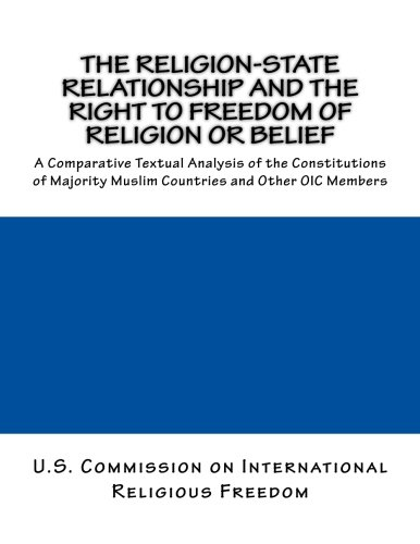 The Religion-State Relationship and the Right to Freedom of Religion or Belief: A Comparative Textual Analysis of the Constitutions of Majority Muslim Countries and Other OIC Members