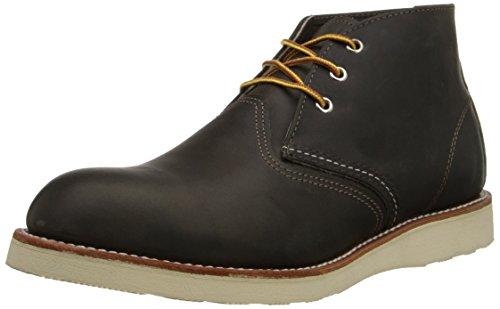 Chukka Grau Schnürstiefel Work Boots (Red Wing-chukka-stiefel Herren)