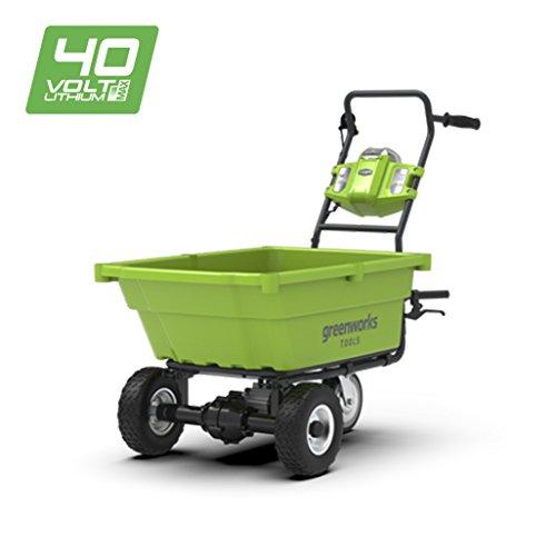 Greenworks 40V Akku-Gartenwagen (ohne Akku und Ladegerät) - 7400007