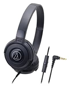 audio-technica Portable Headphone for smartphone ATH-S100iS BK Black