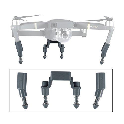 Preisvergleich Produktbild iTrunk Verbesserte Landing Gear Bein-Erweiterungen. Anti-Shock Landegestell Erhöhung für DJI Mavic Pro (Grau)