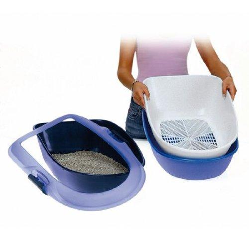 trixie-40152-berto-bandeja-para-gatos-39-x-22-x-59-cm-azul-claro-azul-oscuro-granito