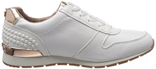 TOM TAILOR Damen 4894106 Sneaker Weiß (White)