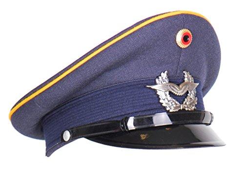 Originale Schirmmütze Abzeichen der Streitkräfte Luftwaffe der Deutschen Bundeswehr Größe 56 oder 57 (57)