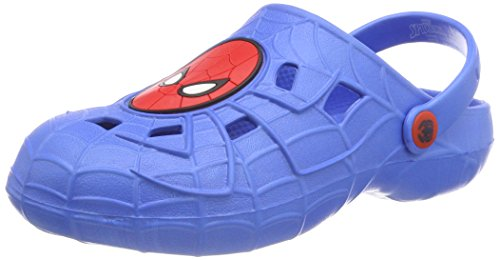 Spiderman Jungen Boys Kids Sandals and Mules Clogs, Royal Blue, 31 EU