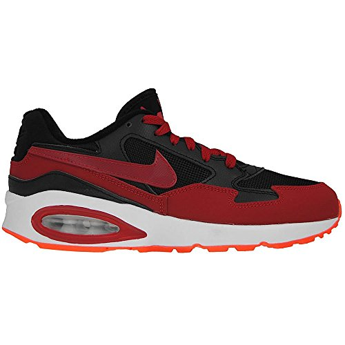 Nike Air Max St (Gs), Chaussures de running garçon Multicolor (Fox Red F14-St/Ftwr White/Gold Met.)