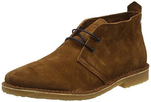 Jack and Jones Men Gobi Ankle Boots, Brown (Cognac), 8 UK 42...