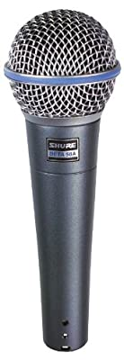 Shure BETA58A Dynamic Vocal Microphone from Shure Incorporated