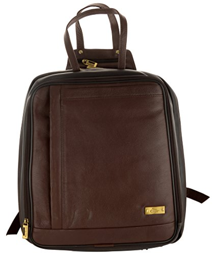 Allen Cooper 25.27 Liters Leather Brown 14″ Laptop Briefcase image - Kerala Online Shopping