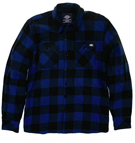 Dickies - Streetwear Male Shirt Sacramento, T-shirt Uomo, Blu (Evening Blue), Large (Taglia Produttore: Large)