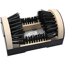 Schuhreiniger Holz Schuhabtreter Reinigung Abstreifer Fußmatte Schuhe Bürste