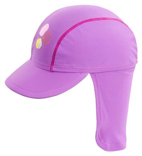Landora UV-Schutz 50+ Kappe/Mütze in violett - Baby-Badebekleidung mit Oeko-Tex® Standard 100