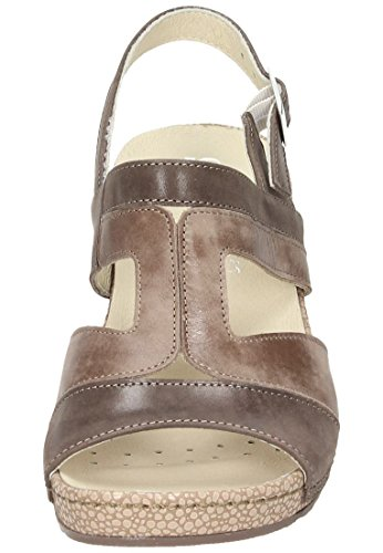 Comfortabel Damen Sandale Braun