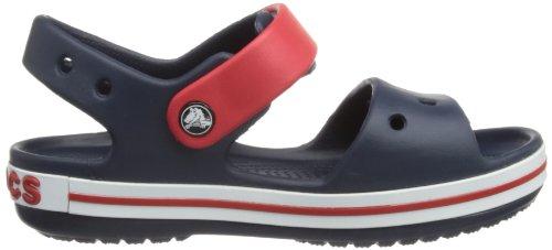 Crocs Band, Sabots mixte enfant Bleu (Navy/Red)