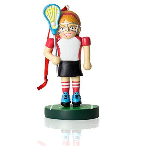 Lacrosse Player Nussknacker Weihnachten Ornament | Lacrosse Ornaments von ChalkTalk Sports