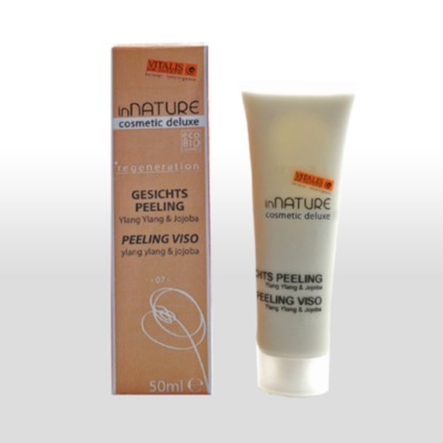 Neue Medizinische Peelings (inNATURE-cosmetic deluxe - Gesichts-Peeling 50ml, mit Marillenkernen & Arganöl, Bio-Zertifizierte Naturkosmetik)