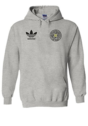 Stone Roses Ian Brown Spike Island Adored Hoodie, Grey or Black, S to XXL
