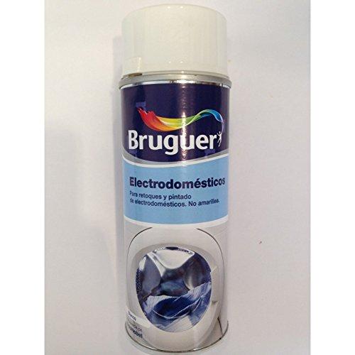 Bruguer 5198000 - Esmalte en spray Bruguer para electrodomésticos color BLANCO 400 ml