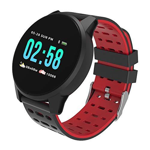 K108 Multifunktions-farbdisplay Pulsoximetrie Tracker Schlafüberwachung Information Benachrichtigung Anruf Wasserdicht Intelligente Sportuhr/Für Android-ios-geräte Und Software