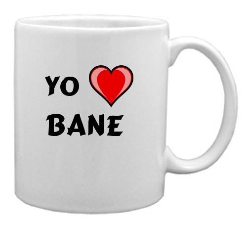 "Taza de cerámica con estampada de ""Te quiero"" Bane (nombre de pila/apellido/apodo)"