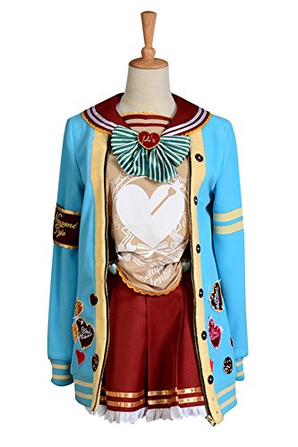 Nozomi Tojo Cosplay Kostüm (LoveLive! Valentinstag Nozomi Tojo Uniform Cosplay Kostüm Damen)