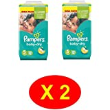 Pampers taille 5: 216 couches baby dry giga pack (2x108 couches)