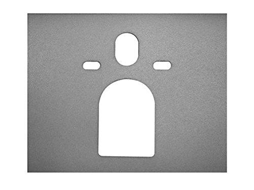 Duravit Schallschutz Set für Wand WC (ohne Deckel) und Wand Bidet Starck 50190000, 50190000