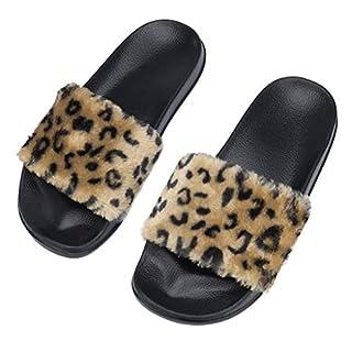 COZOCO Plüsch Hausschuhe Winter Wärme Indoor Pantoffeln Home Rutschfeste Weiche Leicht Baumwolle Slippers Damen Pantolette Slipper