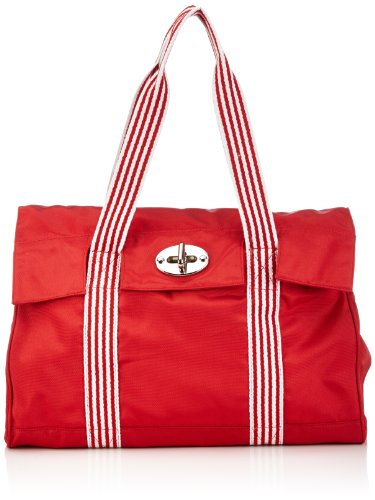 Sansibar Sambal, Borsa shopper donna Rosso (Rot (red))