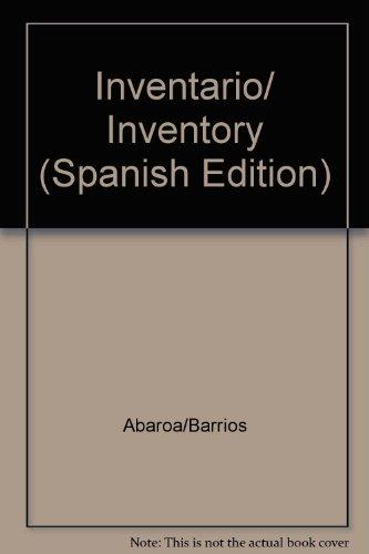 Inventario/ Inventory