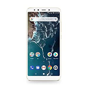 Xiaomi Mi A2-64GB 5.99-Inch Android 8.1 UK Version SIM-Free Smartphone - Gold (Official UK Launch)
