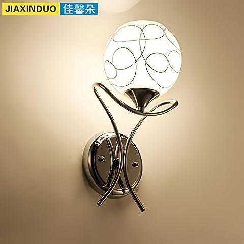 midtawer Exclusivo diseño led de cristal hermoso apliques , solo la cabeza) , sin contacto con ninguna fuente de luz